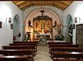Interior igrexa de Santa Mariña
