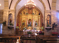 Interior igrexa de San Jorge